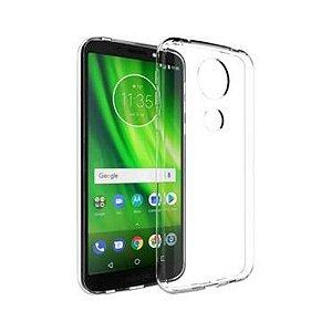 Capa (Capinha) em silicone transparente para Moto G6 PLAY