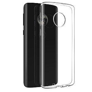 Capa (Capinha) em silicone transparente para Moto G6 PLUS
