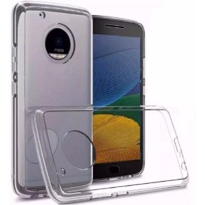 Capa (Capinha) em silicone transparente para Moto E4 PLUS