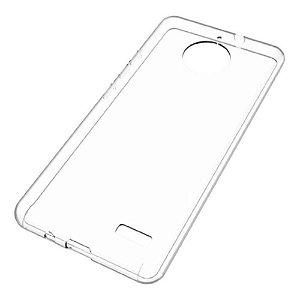 Capa (Capinha) em silicone transparente para Moto C NORMAL