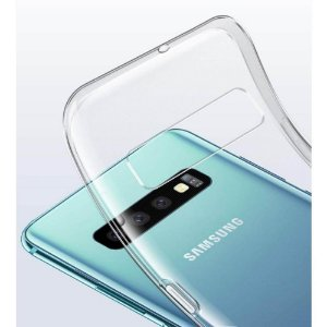 Capa (Capinha) em silicone transparente para Samsung S10 NORMAL