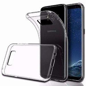 Capa (Capinha) em silicone transparente para Samsung S8 NORMAL
