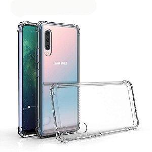 Capa transparente de silicone para Samsung A80 ou Samsung A90 Antichoque