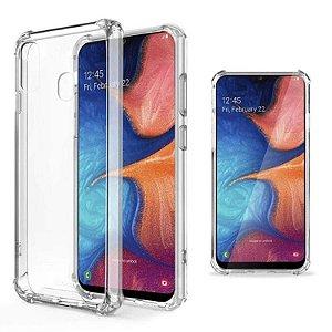 Capa transparente de silicone para Samsung A20 ou Samsung A30 Antichoque
