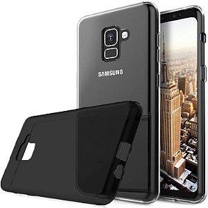 Capa na cor fumê de silicone para Samsung A518 ou Samsung A818 Normal