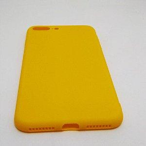 Capa flexível para iPhone 7 PLUS ou 8 PLUS - Amarelo