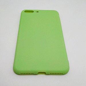 Capa flexível para iPhone 7 PLUS ou 8 PLUS - Abacate