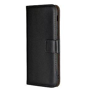 Capa carteira Preta para iPhone XR