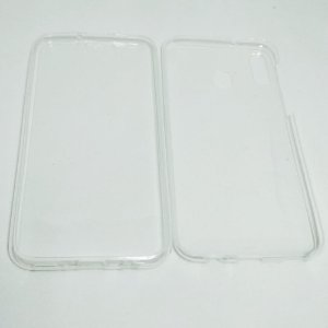 Capinha 360º Frente + Verso para Samsung M20 - Transparente