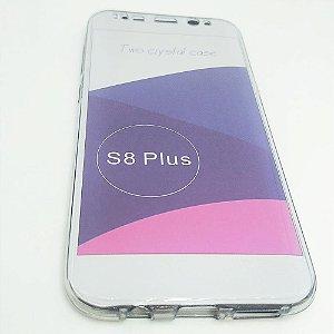 Capinha 360º Frente + Verso para Samsung S8 PLUS - Fumê Claro