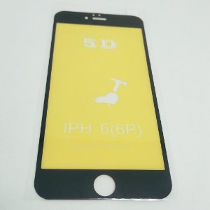 Película Flexível 5D / 6D GEL para iPhone 6 PLUS (5.5)
