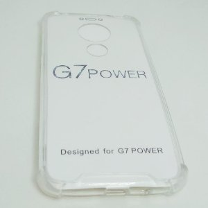 Capinha Acrílica com borda para Moto G7 POWER - Transparente