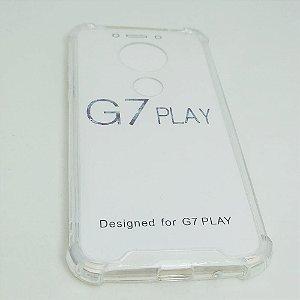 Capinha Acrílica com borda para Moto G7 PLAY