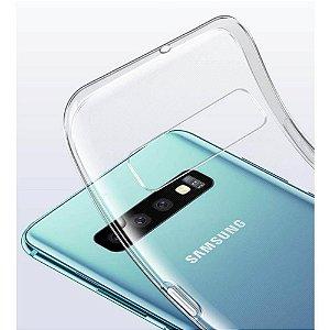 Capa (Capinha) em silicone transparente para Samsung S10E