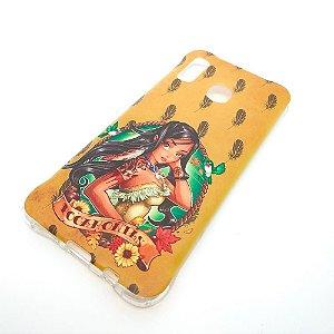 Capinha Premium para Samsung A20 / A30 - Pocahontas