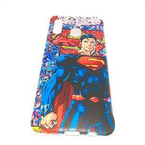 Capa para celular do Samsung A20 / A30 - Super Homem