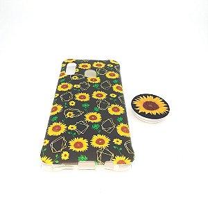 Capa para celular do Samsung A20 / A30 - Modelo Floral F