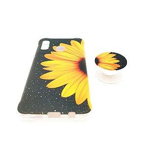 Capa para celular do Samsung A20 / A30 - Modelo Floral B