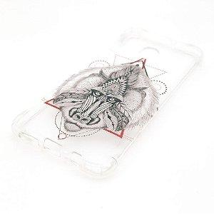 Capa para celular do Samsung A20 / A30 - Chipanzé