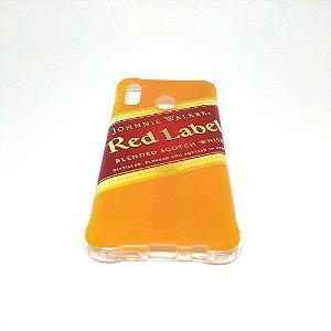Capa para celular do Samsung A20 / A30 - Red Label