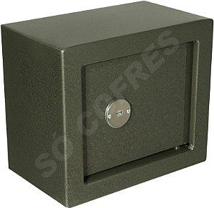 Cofre Mecânico MEC Mini - Chave Tetra - A 21 X L 25,5 X P 15 - para Fixar