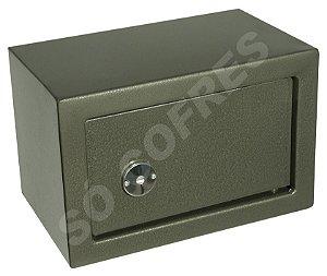 "Cofre Mecânico Mini Box Classe ""A"" - Chave Tetra - A 20 X L 31 X P 20 - para Fixar"