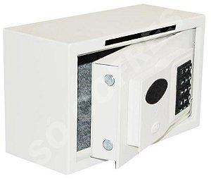Cofre Eletrônico Hobby 16 com Boca de Lobo - A 20 X L 33 X P 16 - Múltiplos Usuários e Auditoria
