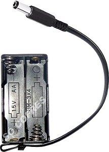 """Kit de Emergência P4 Techner - para 4 pilhas """"AA"""""""