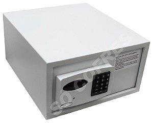 Cofre Eletrônico Slim - A 21 X L 38 X P 42 - com Luz Interna e Auditoria