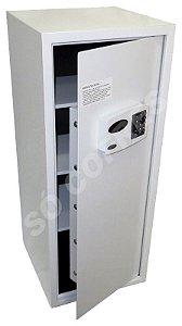 Cofre Eletrônico Master 100 - A 100 X L 41 X P 42 - Até 7 Usuários, Luz Interna e Auditoria