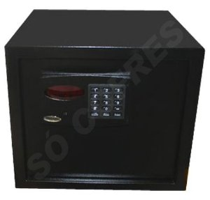 Cofre Eletrônico Empresarium Black - A 36 X L 41 X P 42 - com Painel Digital e Auditoria