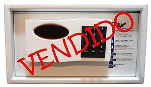 Cofre Eletrônico Lap 20 - A 21 X L 36 X P 40 - Múltiplos Usuários, Luz Interna e Auditoria - USADO COM GARANTIA