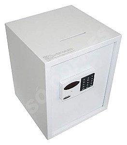 Cofre Eletrônico Company com Boca de Lobo - A 50 X L 41 X P 42 - com Senha Digital e Luz Interna