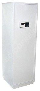 Cofre Eletrônico Master 1.5 - A 155 X L 50 X P 47 - Até 7 Usuários, 5 Prateleiras, Luz Interna e Auditoria