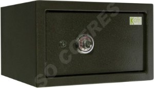 Cofre Mecânico MEC 40 LAP - Segredo e Chave - A 25 X L 40 X P 40 - para Fixar