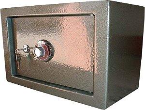 Cofre Mecânico MEC 30 - Segredo e Chave - A 30 X L 40 X P 30 - para Fixar