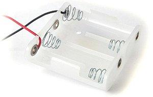 Compartimento interno sem tampa para 4 pilhas tamanho AA para Cofre Eletrônico New Security Options (NSO)