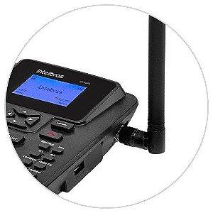 Telefone Rural de Mesa Intelbras CF4201