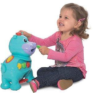 Brinquedo Amiguinho Comilão - Hipopótamo