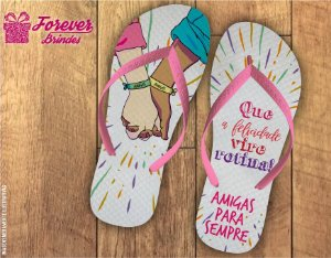 Chinelo Personalizados Best Friends