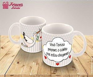 Caneca de Porcelana para a Melhor Vovó