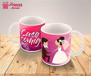 Caneca Porcelana Casamento