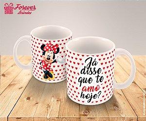 Caneca Porcelana Minnie Disney