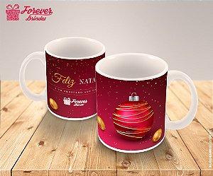 Caneca Porcelana Personalizada Enfeites Natal