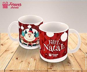 Caneca Porcelana Personalizada Feliz Natal