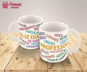 Caneca Porcelana  Personalizado Professor