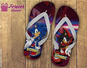 Chinelo Personalizado Sonic