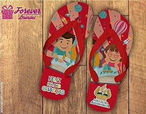 Chinelo Dia Das Crianças Brinquedos