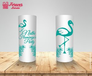 Copo Long Drink Flamingo's Party