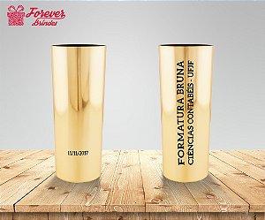 Copo Long Drink Metalizado Ciências Contábeis